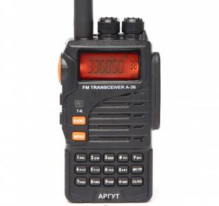 АРГУТ А-36  Радиостанция портативная аналоговая, РЕЧНОГО ДИАПАЗОНА