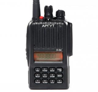 АРГУТ А-54 Радиостанция портативная аналоговая + FM приёмник