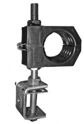 """USC/ 1x1/2""""S (14) Крепление для 1-го кабеля 13-14 мм со струбциной"""