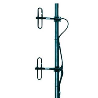 DP2 UHF Базовая дипольная антенна, два петлевых диполя+сумматор, N-мама