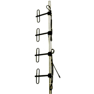 DP4 VHF Базовая дипольная антенна четыре петлевых диполя+сумматор, N-мама