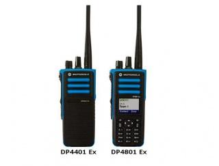 Motorola DP4801 ATEX Радиостанция носимая взрывозащищённая цифровая