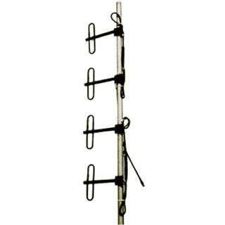 DP4 UHF Базовая дипольная антенна, четыре петлевых диполя+сумматор, N-мама