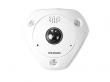 DS-2CD6362F-IVS (1.27mm) 6Мп fisheye IP-камера с ИК-подсветкой до 15м