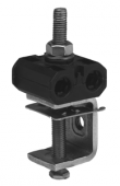 MCC 6 x 9 Крепление компактное 3-х ярусное для 6-ти кабелей ø7-9 мм со струбциной MIM8